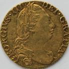GUINEAS 1784  GEORGE III GEORGE III 4TH HEAD