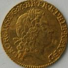 HALF GUINEAS 1718  GEORGE I GEORGE I 1ST HEAD