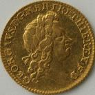 HALF GUINEAS 1726  GEORGE I GEORGE I 2ND HEAD