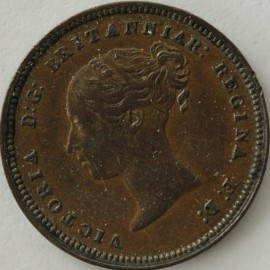 HALF FARTHINGS 1851  VICTORIA FIRST I IN DATE OVER 5 VERY SCARCE
