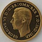 TWO POUNDS (GOLD) 1937  GEORGE VI GEORGE VI PROOF SUPERB