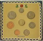 ROYAL MINT - UNCIRCULATED SETS 1990  Elizabeth II ONE POUND TO 1P (8 Coins) BU