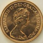 SOVEREIGNS 1982  Elizabeth II
