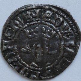 EDWARD I 1272 -1307 EDWARD I PENNY. Long cross type. LONDON