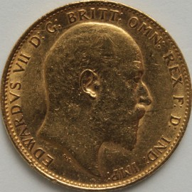 SOVEREIGNS 1909  EDWARD VII MELBOURNE