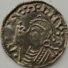 ANGLO SAXON-LATE PERIOD 1016 -1035 CNUT PENNY SHORT CROSS TYPE YORK MINT GVF