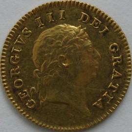 HALF GUINEAS 1804  GEORGE III GEORGE III 7TH HEAD  NVF/GVF
