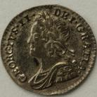 MAUNDY PENNIES 1743  GEORGE II GEF