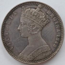 FLORINS 1848  VICTORIA PROOF PATTERN