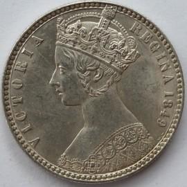 FLORINS 1849  VICTORIA