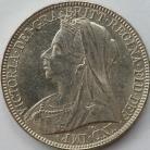FLORINS 1898  VICTORIA