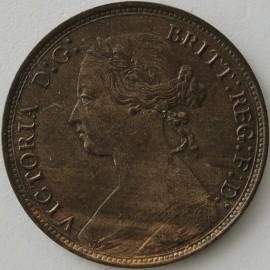 HALFPENCE 1877  VICTORIA
